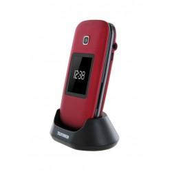 "Telefunken - TM260 Cosi 6,6 cm (2.6"") 210 g Rojo"