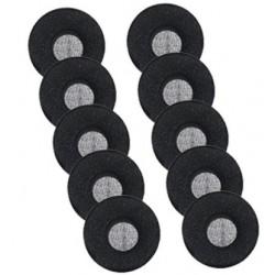 Jabra - 14101-38 almohadilla para auriculares Negro Espuma 10 pieza(s)
