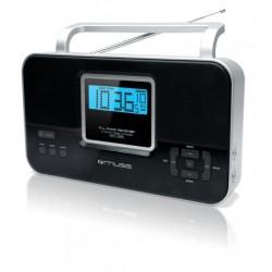 Muse - M-087 R Portátil Analógica Negro radio