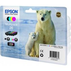 Epson - Polar bear Multipack 26 4 colores (etiqueta RF)