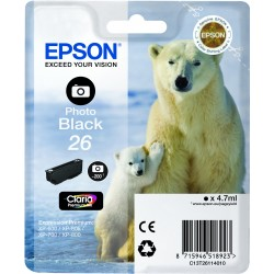 Epson - Polar bear Cartucho 26 negro foto