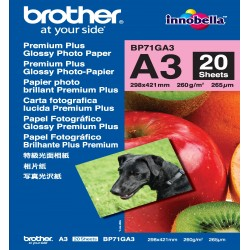 Brother - Papel Fotográfico Glossy Premium A3