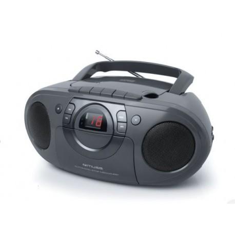 Muse - M-19 RDC Analógica Negro Radio CD