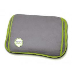 Daga - FlexyHeat Water Calentador de cama eléctrico 100W Microfibra Verde, Gris