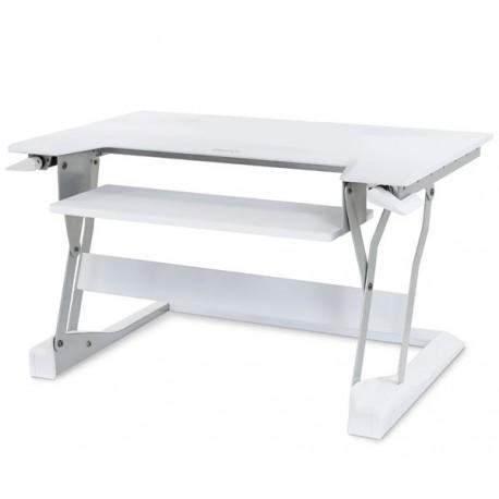 Ergotron - WorkFit-T Color blanco escritorio para ordenador