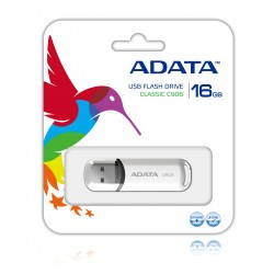 ADATA - 16GB C906 16GB USB 2.0 Tipo A Color blanco unidad flash USB