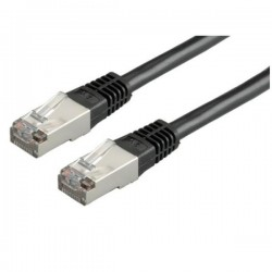Nilox - S/FTP CAT.6 cable de red 1 m Cat6 S/FTP (S-STP) Negro