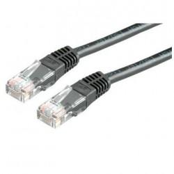 Nilox - 3.0m Cat5e UTP cable de red 3 m U/UTP (UTP) Negro
