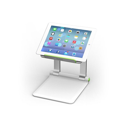 Belkin - B2B118 Tableta Multimedia stand Verde, Plata mueble y soporte para dispositivo multimedia
