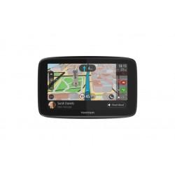 """TomTom - GO 5200 navegador 12,7 cm (5"""") Pantalla táctil Fijo Negro, Gris"""