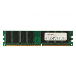 V7 - 1GB DDR1 PC3200 - 400Mhz DIMM Desktop módulo de memoria - V732001GBD