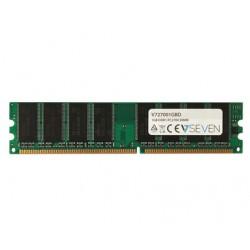 V7 - 1GB DDR1 PC2700 - 333Mhz DIMM Desktop módulo de memoria - V727001GBD