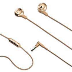 Celly - NJOY35GD Dentro de oído Binaural Alámbrico Oro auriculares para móvil