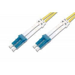 Digitus - DK-2933-03 cable de fibra optica 3 m LC Amarillo