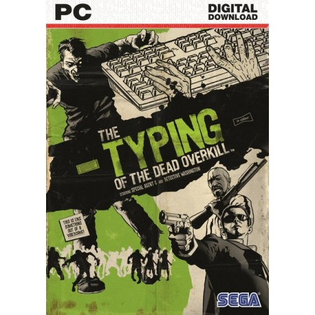 SEGA - Typing of the Dead: Overkill Básico PC Español vídeo juego