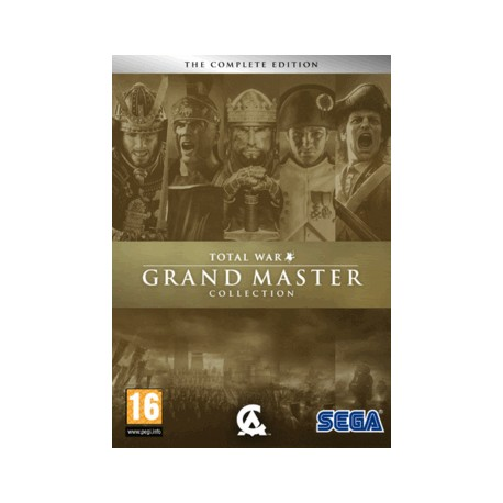 SEGA - Total War Grand Master Collection Coleccionistas PC Español vídeo juego