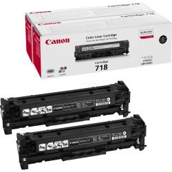 Canon - 718 BK VP Cartucho 6800páginas Negro