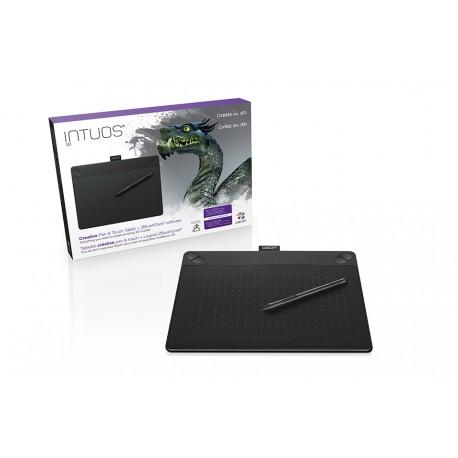Wacom - INTUOS 3D BLACK PT M SOUTH 2540líneas por pulgada 216 x 135mm USB Negro tableta digitalizadora