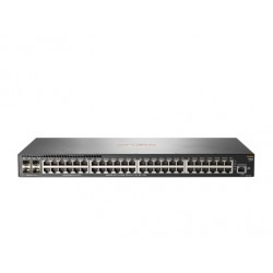 Aruba, a Hewlett Packard Enterprise company - Aruba 2930F 48G 4SFP+ Gestionado L3 Gigabit Ethernet (10/100/1000) Gris 1U