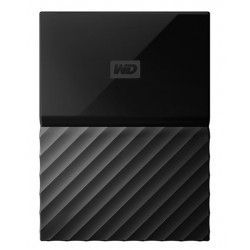 Western Digital - My Passport disco duro externo 1000 GB Negro - WDBYNN0010BBK-WESN