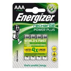 Energizer - Accu Recharge Power Plus 700 AAA BP4 Batería recargable Níquel-metal hidruro (NiMH)