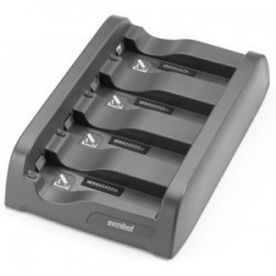Zebra - SAC4000-410CES cargador de batería Negro Cargador de baterías para interior