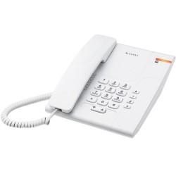 Alcatel - Temporis 180 Teléfono DECT Blanco Identificador de llamadas