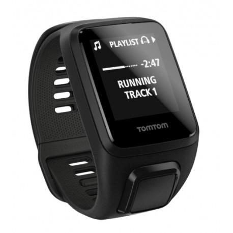 TomTom - Spark 3 Cardio + Music Bluetooth Negro reloj deportivo