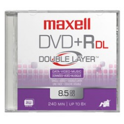 Maxell - DVD+R DL 10 Pack 8,5 GB 10 pieza(s)