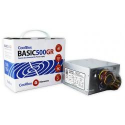 CoolBox - Basic 500GR unidad de fuente de alimentación 300 W 20+4 pin ATX ATX Metálico