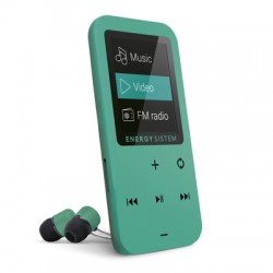 Energy Sistem - 426430 Reproductor de MP4 8GB Verde reproductor MP3/MP4