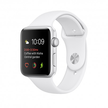 Apple - Watch Series 1 OLED Plata reloj inteligente - 21989307