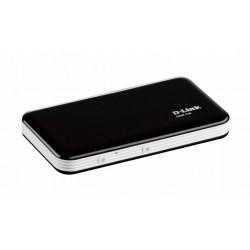 D-Link - DWR-730 equipo de red 3G UMTS Wifi USB Negro, Blanco