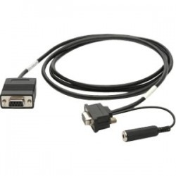 Zebra - 25-13227-03R cable de serie Negro 1,83 m DB9