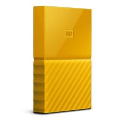 Western Digital - My Passport disco duro externo 4000 GB Amarillo