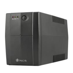 NGS - Fortress 600 V2 sistema de alimentación ininterrumpida (UPS) 400 VA 2 salidas AC En espera (Fuera de línea) o