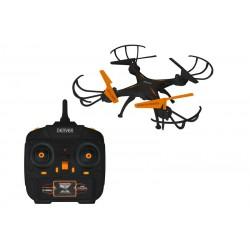 Denver - DCH-261 4rotors 0.3MP 640 x 480Pixeles 380mAh Negro, Naranja dron con cámara
