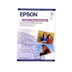 Epson - Premium Glossy Photo Paper, DIN A3, 255 g/m², 20 hojas