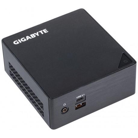 Gigabyte - GB-BKi3HA-7100 rev 10 24GHz i3-7100U 06L sized PC Negro