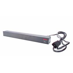 APC - Basic Rack PDU unidad de distribución de energía (PDU) 0U/1U Negro 12 salidas AC