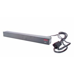 APC - Basic Rack PDU unidad de distribución de energía (PDU) 12 salidas AC 0U/1U Negro