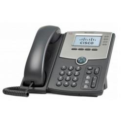 Cisco - SPA514G Terminal con conexión por cable 4líneas LCD Gris teléfono IP