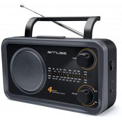 Muse - M-05 DS Portátil Analógica Negro radio