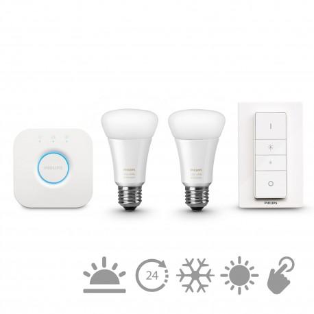 Philips - hue White ambiance Kit de inicio E27 8718696548691