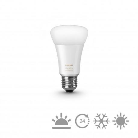 Philips - hue White ambiance Bombilla individual E27 8718696548738