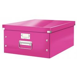 Leitz - Caja de almacenamiento grande Click & Store