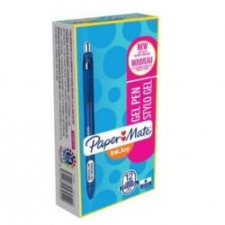 Papermate - InkJoy Gel Retractable gel pen Azul 12pieza(s)