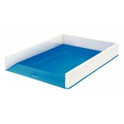 Leitz - WOW Poliestireno Azul, Metálico bandeja de escritorio - 22147815