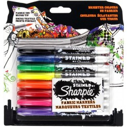 Sharpie - S0962151 Negro, Azul, Verde, Naranja, Rosa, Púrpura, Rojo, Amarillo 8pieza(s) marcador permanente