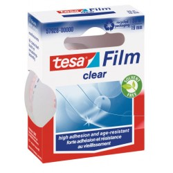 TESA - Clear 19mmx33m 33m Transparente 1pieza(s) cinta adhesiva de papelería y oficina